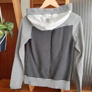 Lululemon Bliss Break Gray Hoodie Jacket